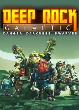 سی دی کی اورجینال Deep Rock Galactic