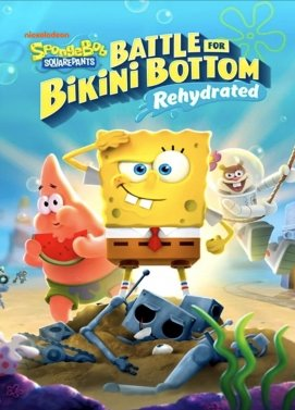 سی دی کی اورجینال SpongeBob SquarePants Battle for Bikini Bottom Rehydrated