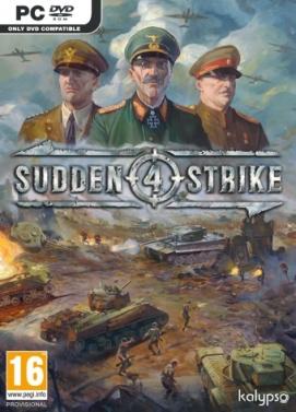 سی دی کی اورجینال Sudden Strike 4