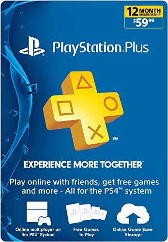 Playstation Plus 12 Months UK