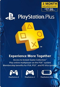 Playstation Plus 3 Months US
