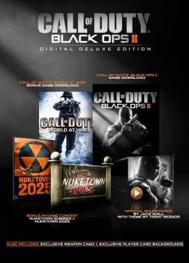 سی دی کی اورجینال Call of Duty Black Ops II Digital Deluxe Edition