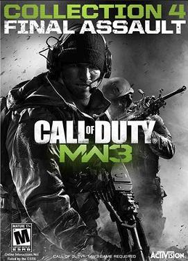 Call of Duty Modern Warfare 3 Collection 4 DLC