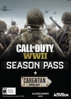 Call of Duty World War 2 Season Pass  DLC