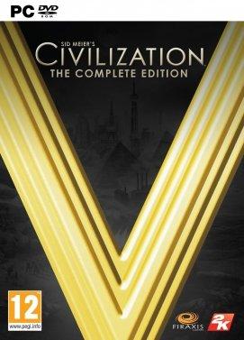سی دی کی اورجینال Civilization V Complete Edition