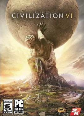 سی دی کی اورجینال Civilization VI