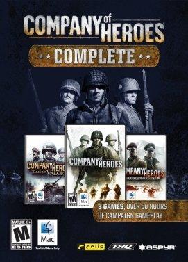 سی دی کی اورجینال Company of Heroes Complete