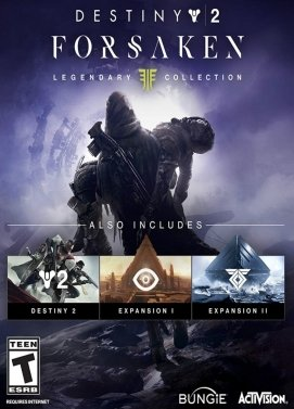 سی دی کی اورجینال Destiny 2 Forsaken Legendary Collection