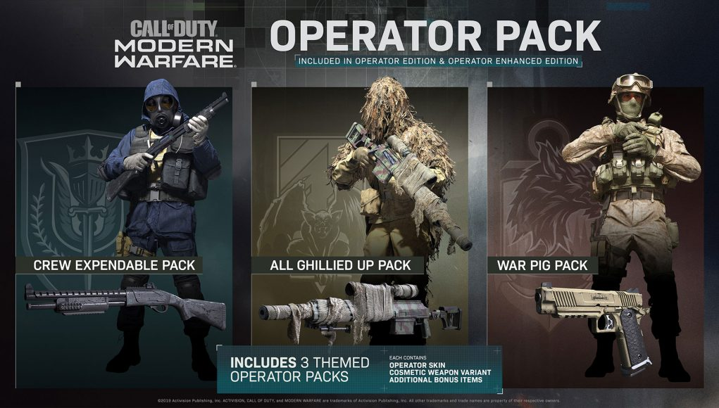 PACK ENHANCED EDITION CALL OF DUTY