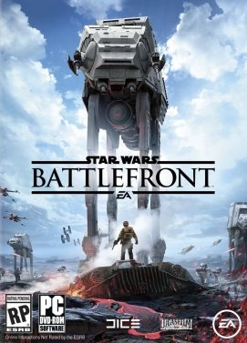 سی دی کی اورجینال Star Wars Battlefront