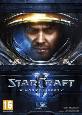 سی دی کی اورجینال Starcraft 2 Wings of Liberty