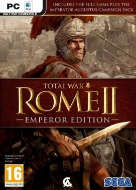 سی دی کی اورجینال Total War Rome 2 Emperor Edition