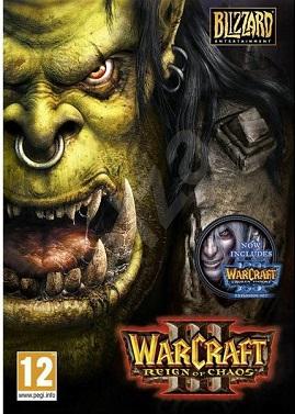 سی دی کی اورجینال Warcraft 3 Gold Edition