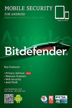 بیت دیفندر موبایل سکیوریتی ۱ کاربر ۶ ماه