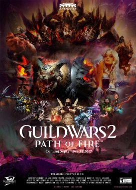 سی دی کی اورجینال Guildwars 2 Path of Fire