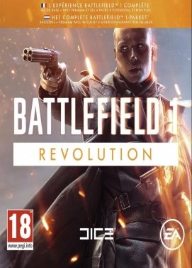 خرید گیفت اورجین Battlefield 1 Revolution Edition