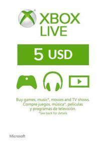 XBOX Live 5$ US
