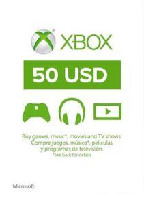 XBOX Live 50$ US